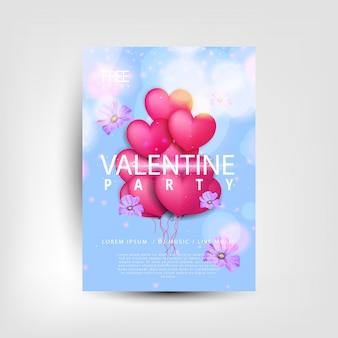 Affiche saint valentin