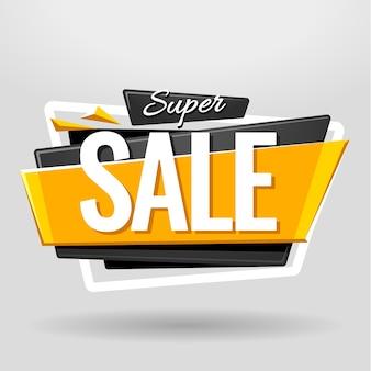 Affiche de super vente