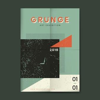 Affiche de texture en détresse grunge