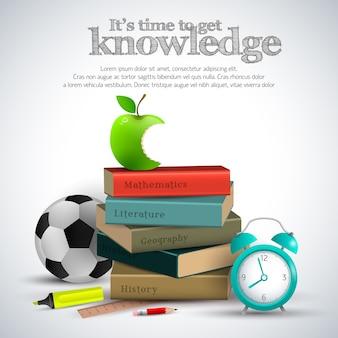 Affiche de trucs de connaissances