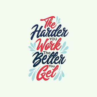 Affiche typographique de citations positives inspirées avec la conception de tshirt de motivation de vie