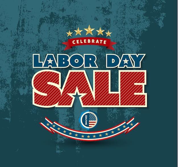 Affiche de vente de la fête du travail