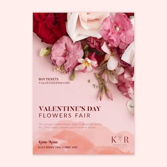 Affiche de vente saint valentin a4