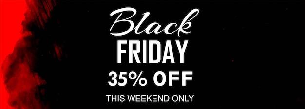 Affiche de vente vendredi noir ou bannière