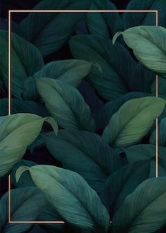 Affiche de vibrations tropicales