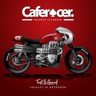 Affiche vintage cafe racer