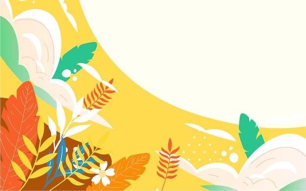 Affiche de voyage d'aventure de vol de ciel d'illustration de voyage de montgolfière d'automne