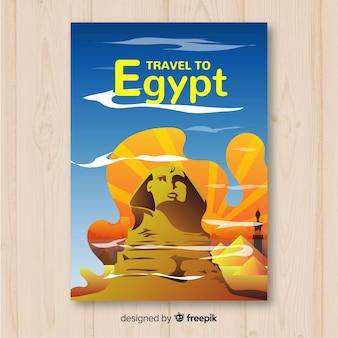 Affiche de voyage sphynx