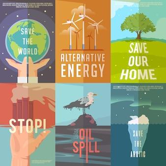 Affiches d'écologie