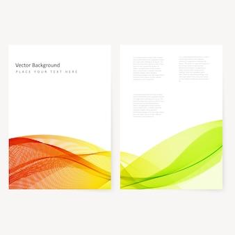 Afficheur couleur abstraite