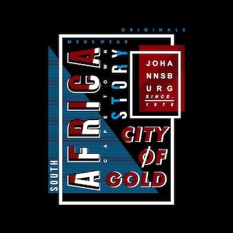 Africa story idée t shirt design