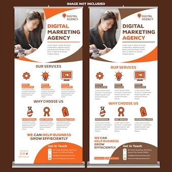 Agence de création roll up banner 07