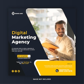 Agence de marketing numérique médias sociaux et publication instagram