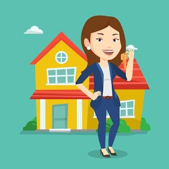 Agent immobilier avec clé