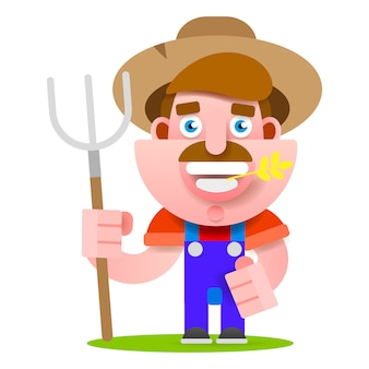 Agriculteur drôle