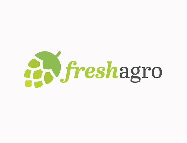 Agriculture ferme maison logo