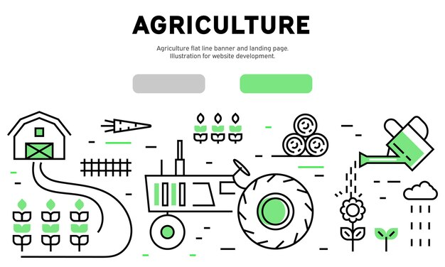 Agriculture infographique
