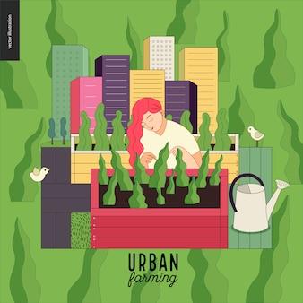 Agriculture urbaine et jardinage