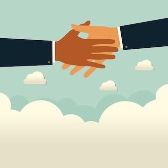 Aide aux entreprises, soutien, survie, concept d'investissement
