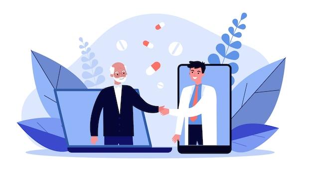 Aide médicale en ligne
