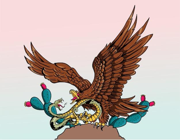 Aigle mexicain