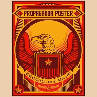Aigle propagande affiches