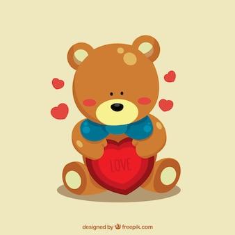Aimer ours en peluche
