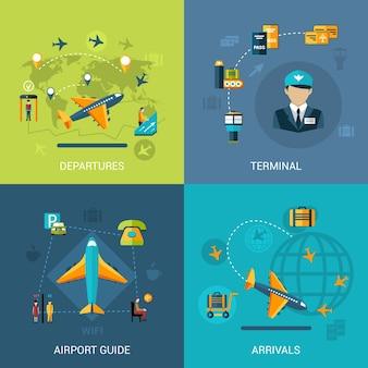 Airport flat set