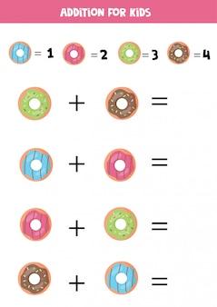 Ajout d'un dessin animé pour les enfants. jeu de mathématiques pour les enfants.