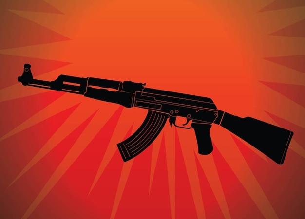 Ak automatique vecteur arme criminelle