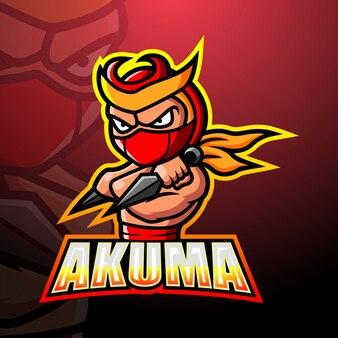Akuma mascotte esport