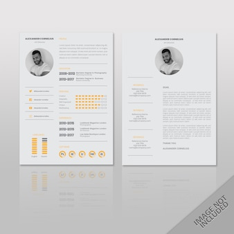 Alexander resume clean simple