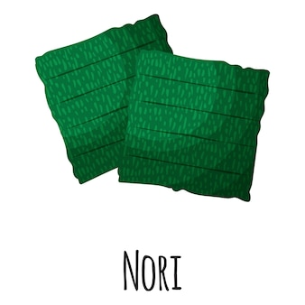 Algues superalimentaires nori pour la conception, l'étiquette et l'emballage du marché des agriculteurs modèles. aliment biologique à base de protéines d'énergie naturelle.