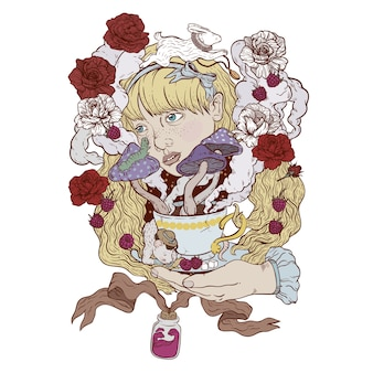 Alice et le thé
