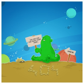 Alien erreur 404 page