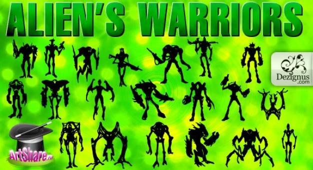 Alien? guerriers s & monsters