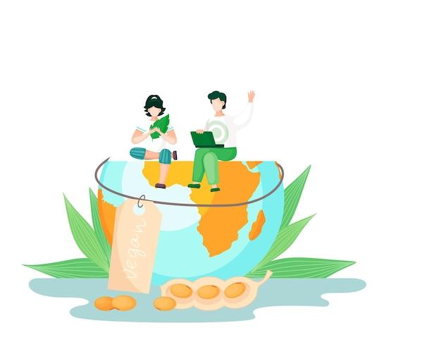 Alimentation saine, végétalienne, végétarienne et soins pour le concept de la nature