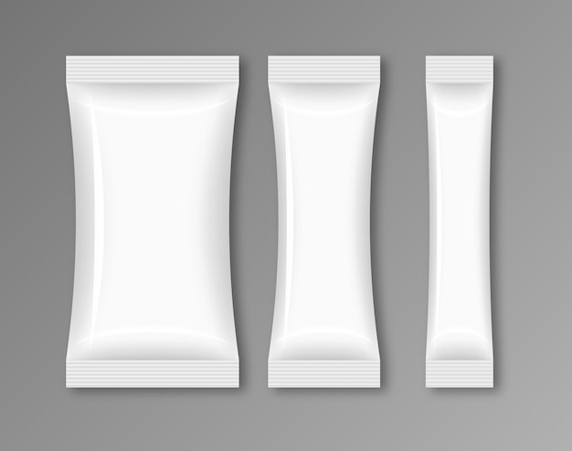 Aliments d'emballage de flux vide. snack pack sac de modèle de conception de papier d'aluminium.