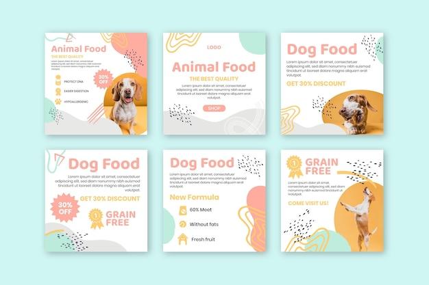 Aliments pour animaux instagram posts