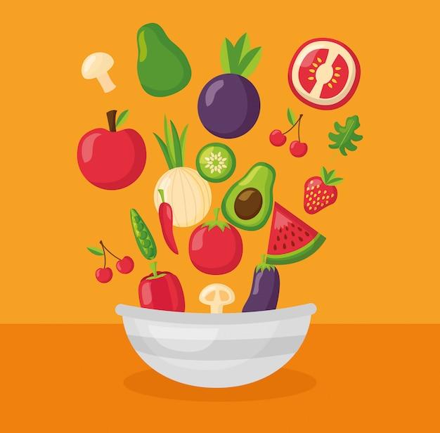 Aliments sains frais