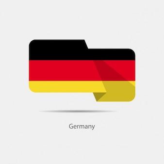 Allemagne conception de drapeau