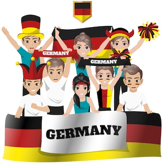 Allemagne équipe nationale supporter