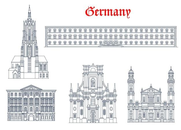 Allemagne, munich architecture, bâtiments, monuments