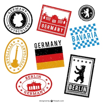 Allemagne timbres imprimés