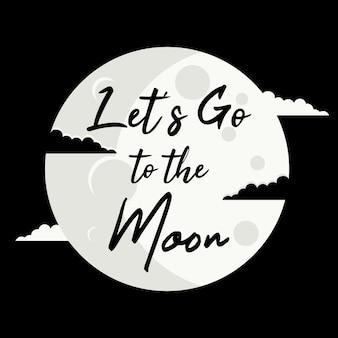 Allons sur la lune