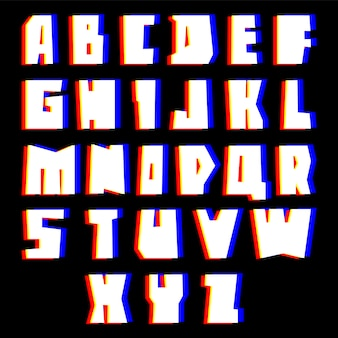 Alphabet abstrait