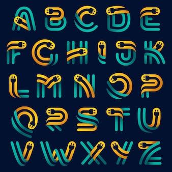 Alphabet avec câble de prise à l'intérieur. caractère vectoriel pour l'identité de la voiture électrique, les titres technologiques, les affiches de charge, etc.