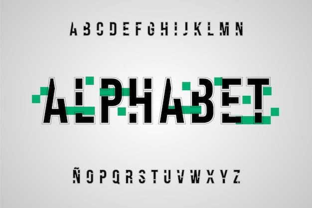 Alphabet minimal abstrait