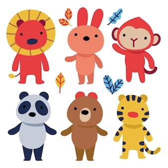 Alphabet pour enfant, police de caractères pour enfant