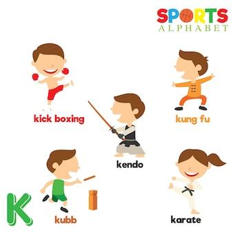 Alphabet sportif